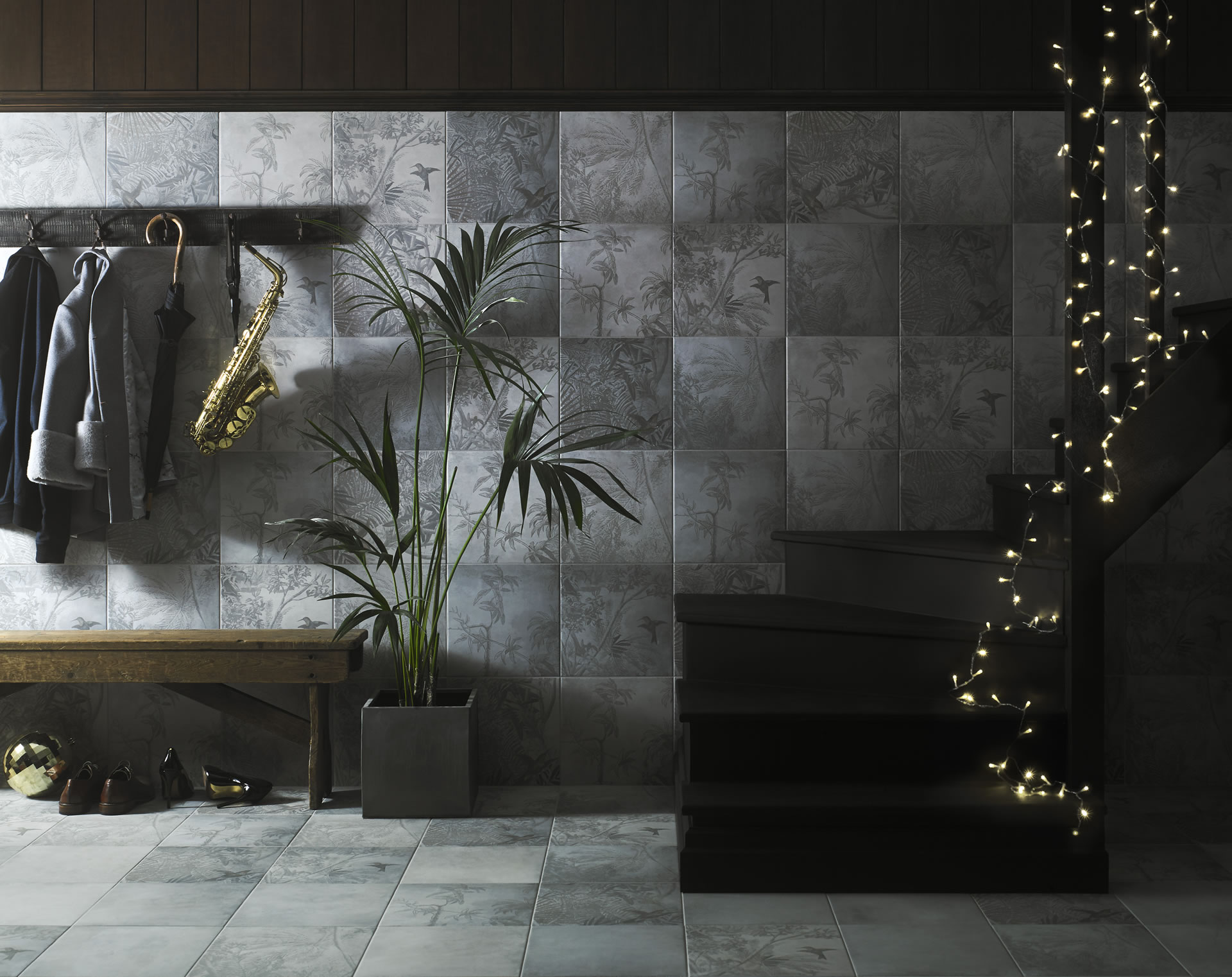 A night on the tiles with ted baker cyan studios cgi photography tedparadise hallway rt sent dailygadgetfo Choice Image