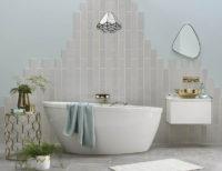 walls and floor bathroom cyan studios